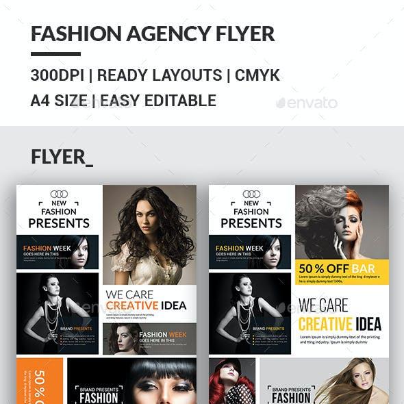 Fashion Agency Flyers