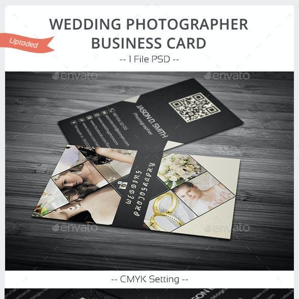 Wedding Photographer Business Card