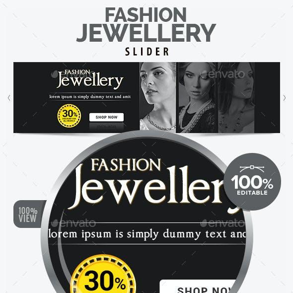 Fashion Jewellery Slider