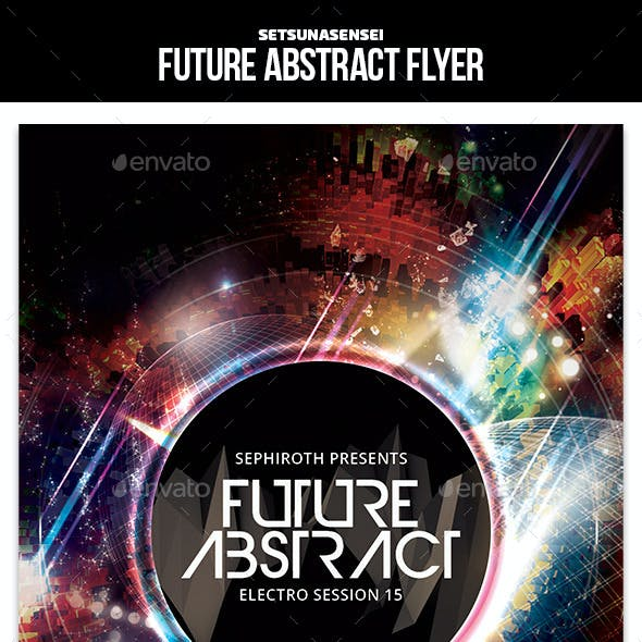Future Abstract Flyer