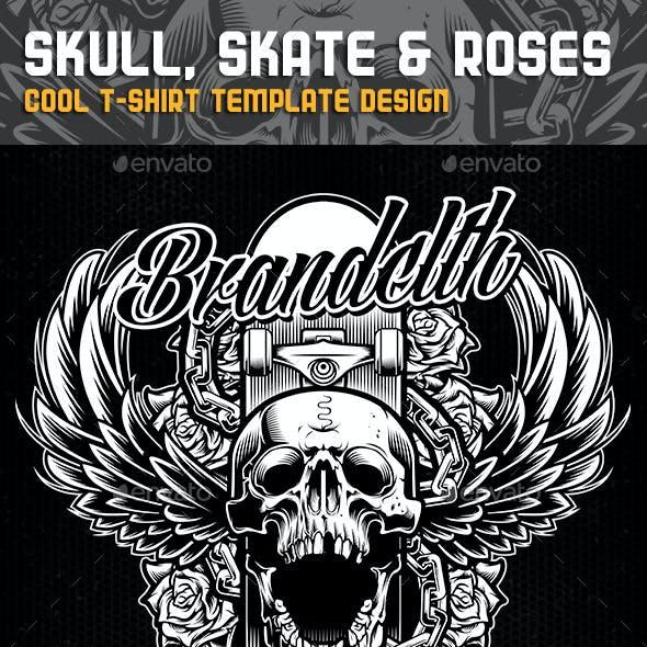 Skull, Skate & Roses