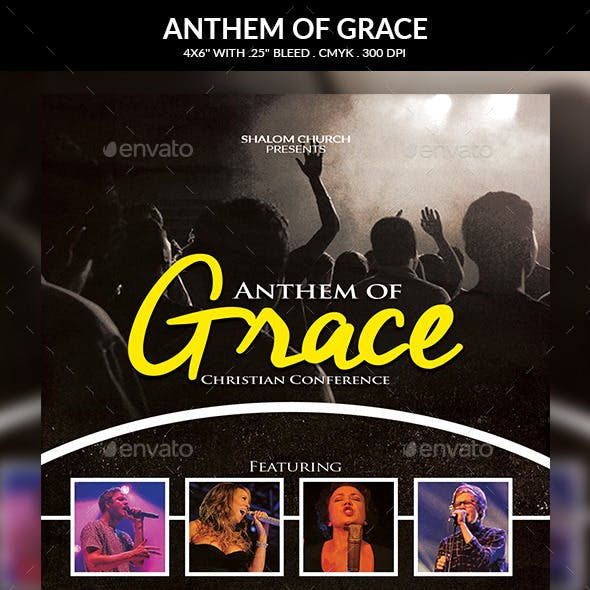 Anthem of Grace Church Flyer