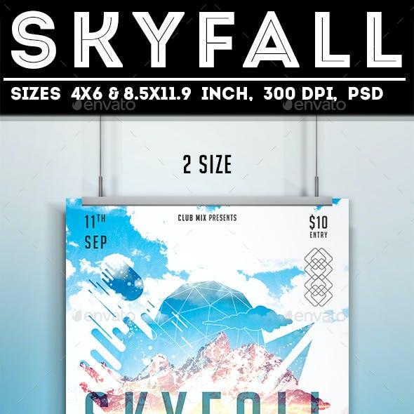Skyfall Flyer/Poster