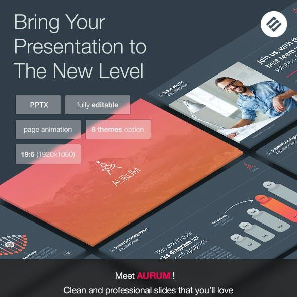 Aurum - Agency Powerpoint Template