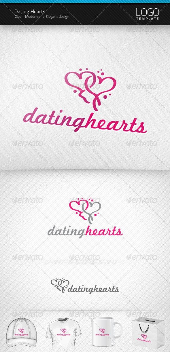 Dating Hearts Logo - Symbols Logo Templates