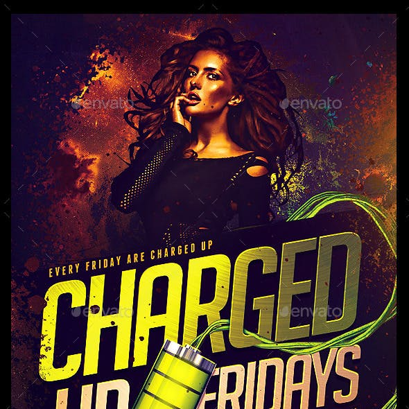 Charged Up Flyer
