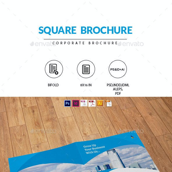Square Brochure for Business