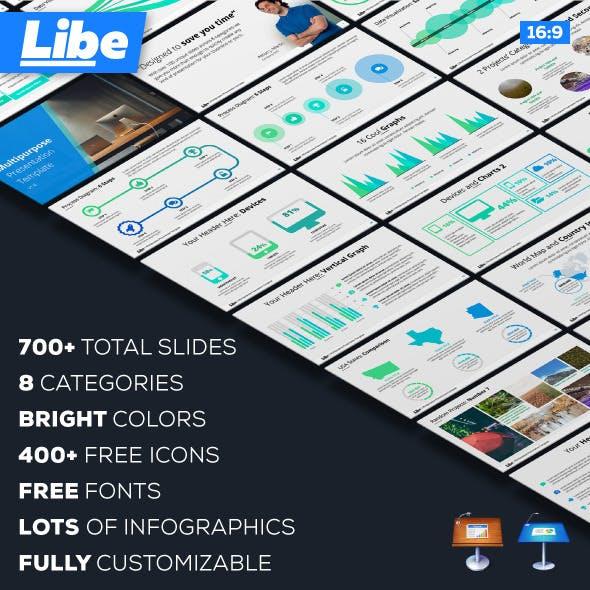 Libe - Keynote Multipurpose Presentation Template