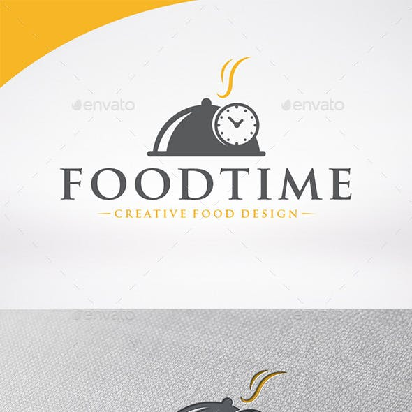 Food Time Logo Template