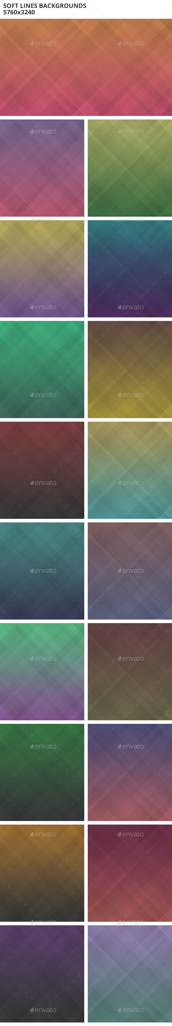 Soft Lines Backgrounds - Abstract Backgrounds