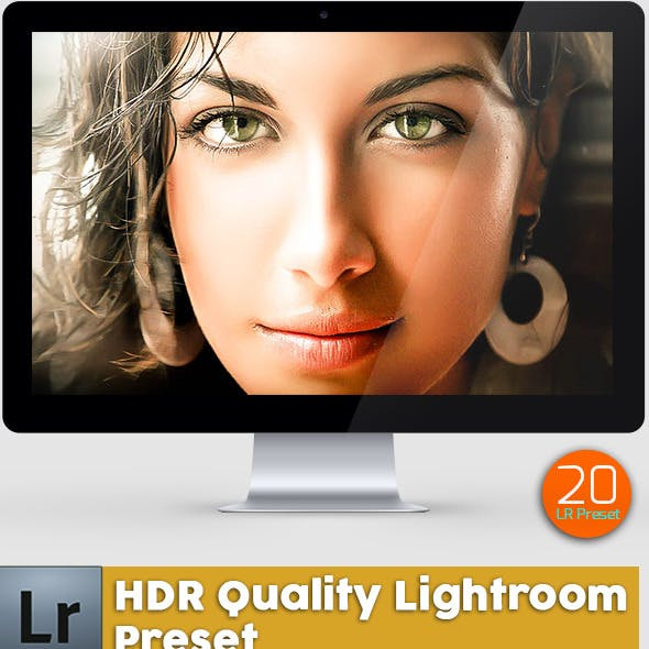 20 HDR Quality Lightroom Presets
