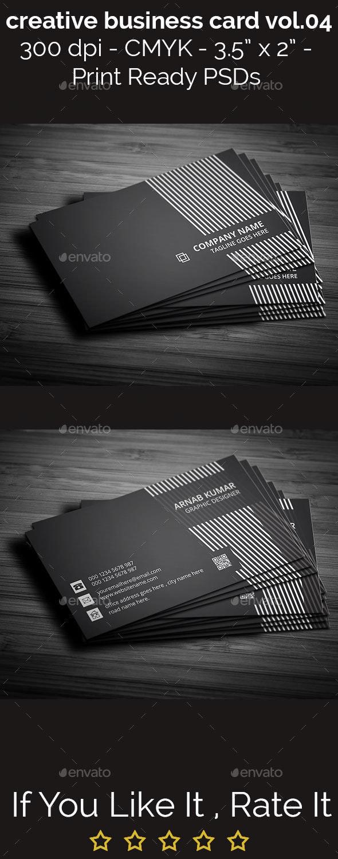 Creative Business Card Vol.04 - Creative Business Cards