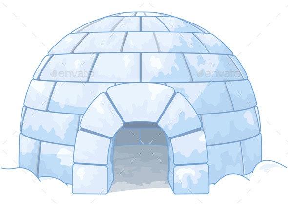 Igloo - Buildings Objects