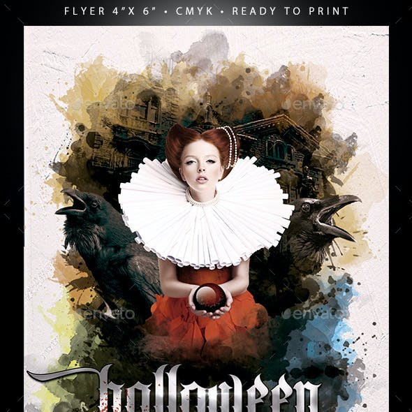 Halloween (Flyer Template 4x6)