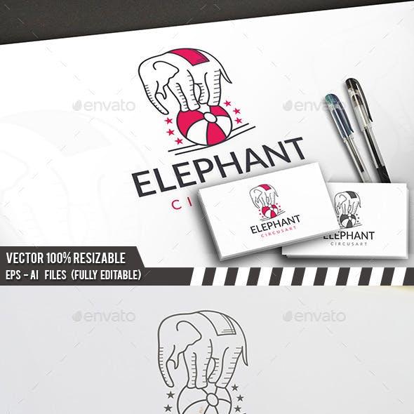 Elephant Circus Logo