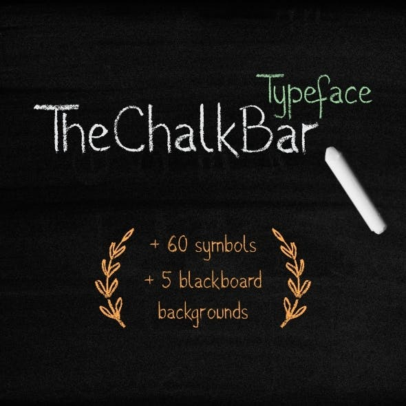 The Chalk Bar Typeface