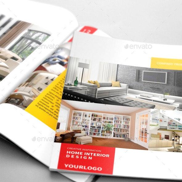 Company Profile Interior Design By Boriesbechker Graphicriver