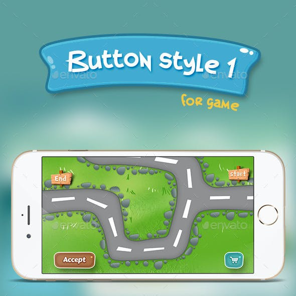 Button style 1 (for game)