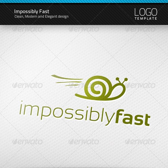 Impossibly Fast Logo