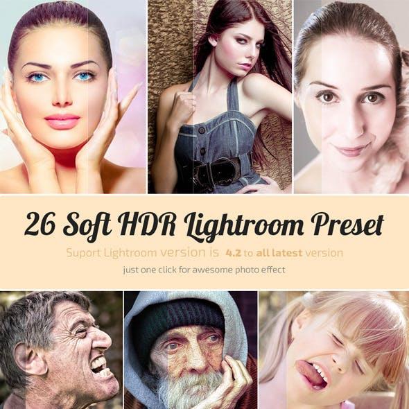 26 Soft HDR Lightroom Preset