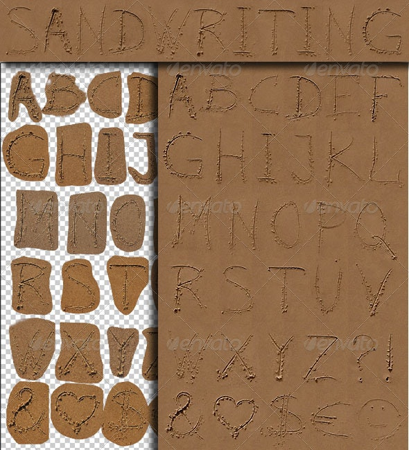 Sandwriting - Decorative Symbols Decorative