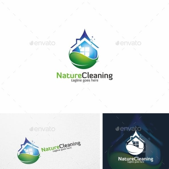 Nature Cleaning - Logo Template