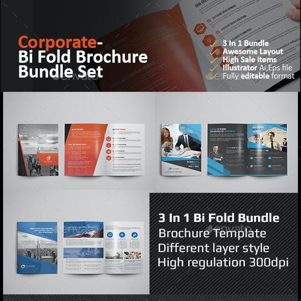 Bi Fold Brochure Bundle
