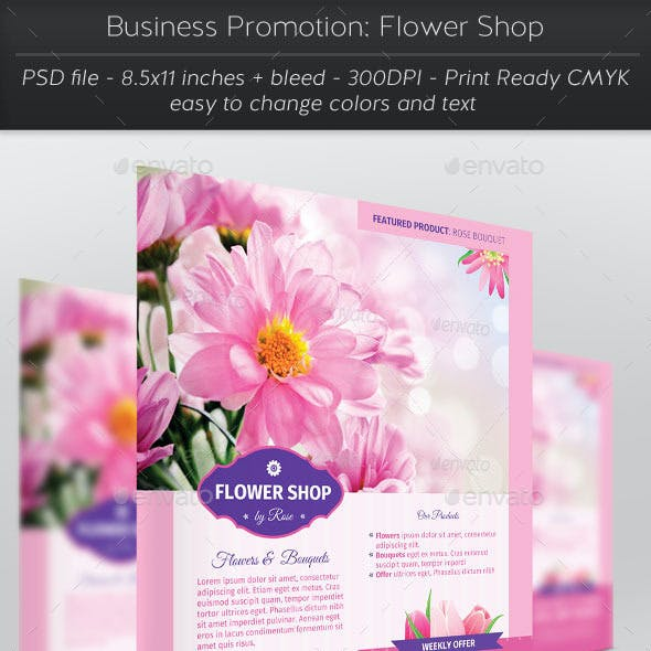 Business Promotion: Flower Shop