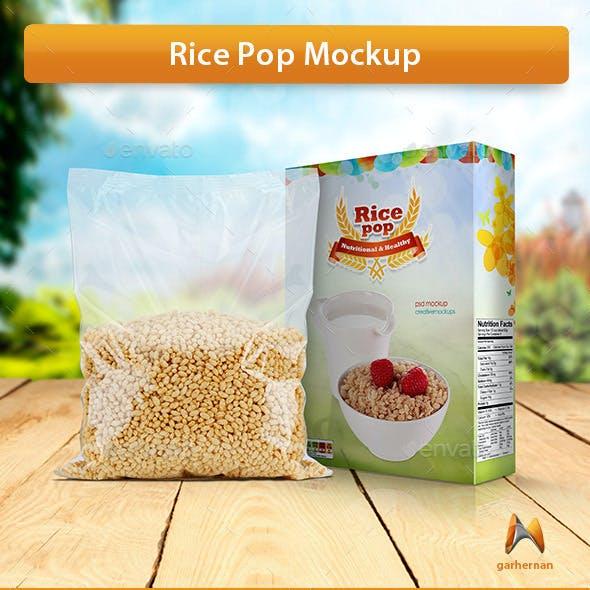 Rice Pop Mockup