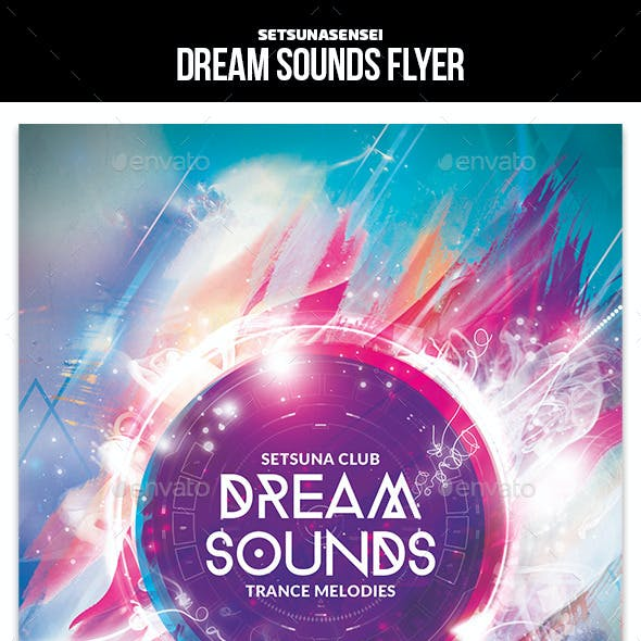 Dream Sounds Flyer