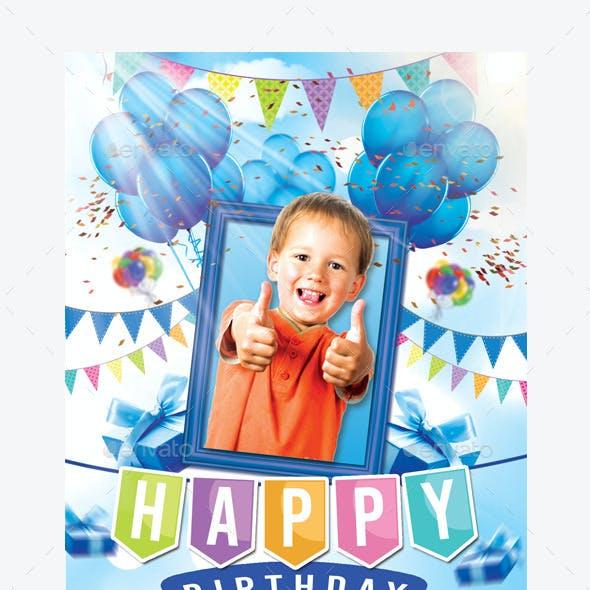 Kids Birthday Party Invitation ( Boy & Girl )
