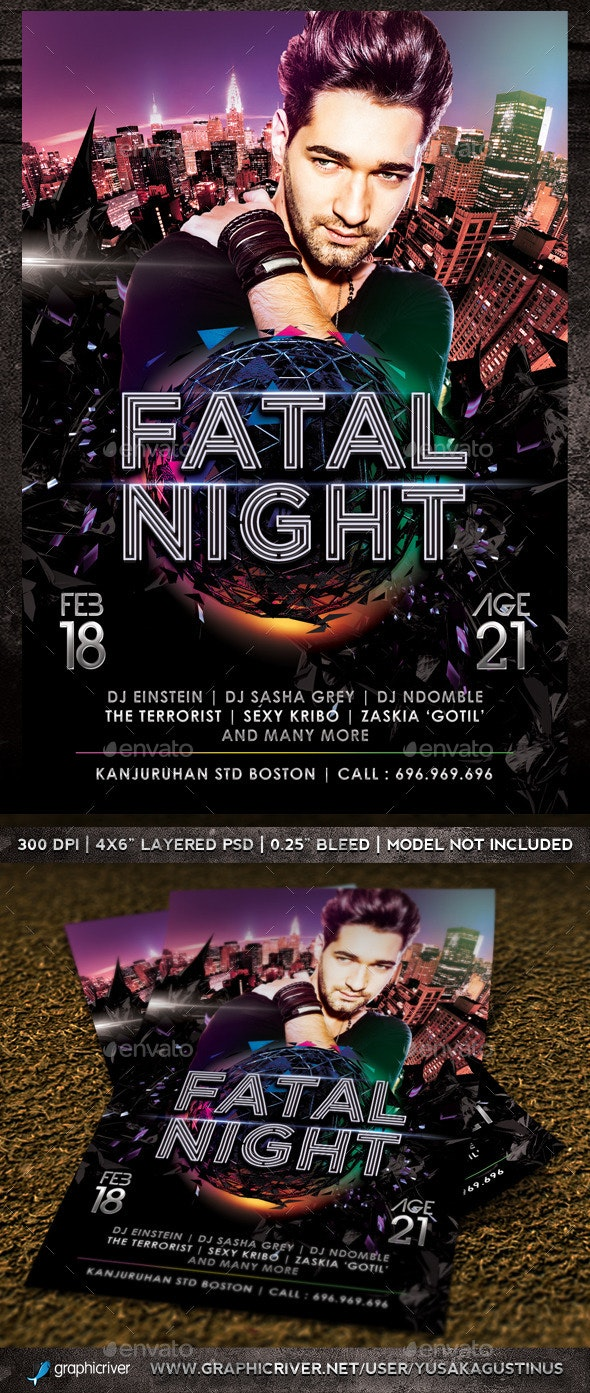 Fatal Night - Clubs & Parties Events