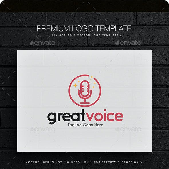 Great Voice Logo