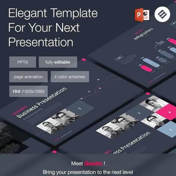 Quadro - Multipurpose Powerpoint Template