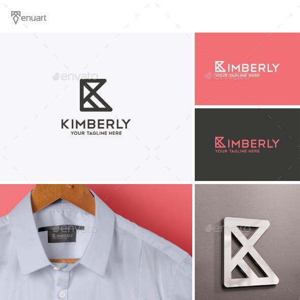 Kimberly - Letter K Logo