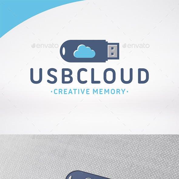 Usb Cloud Logo Template