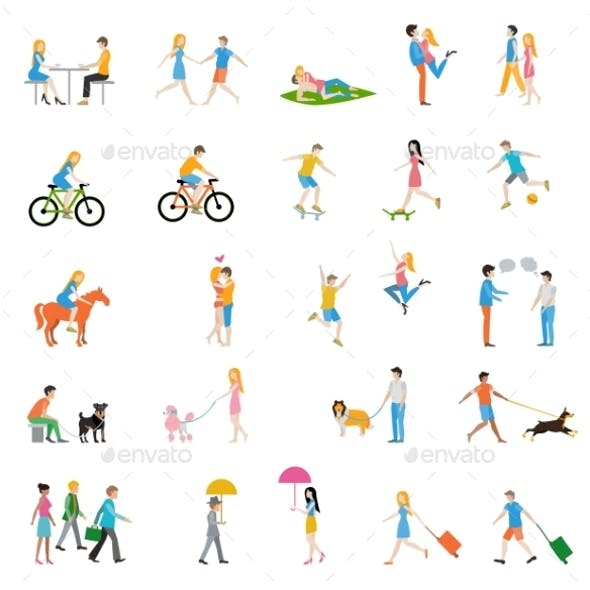 Vector People Large Set