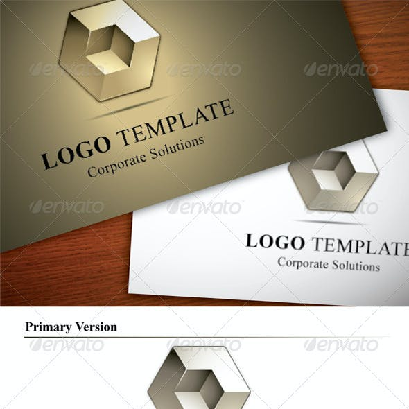 Abstract Logo Template, Corporate Solutions
