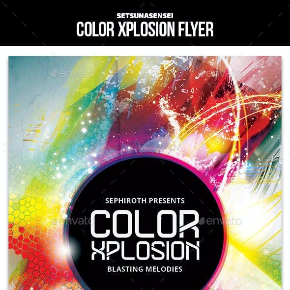 Color Xplosion Flyer