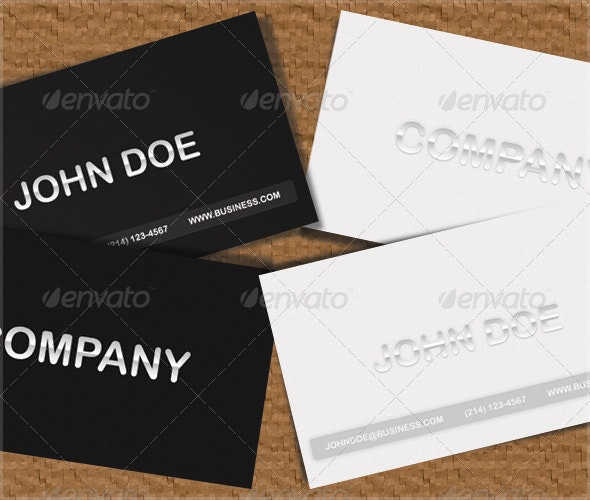Stealth - Corporate Business Cards