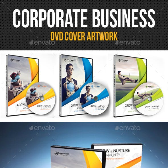 Corporate Business DVD Cover Template V01