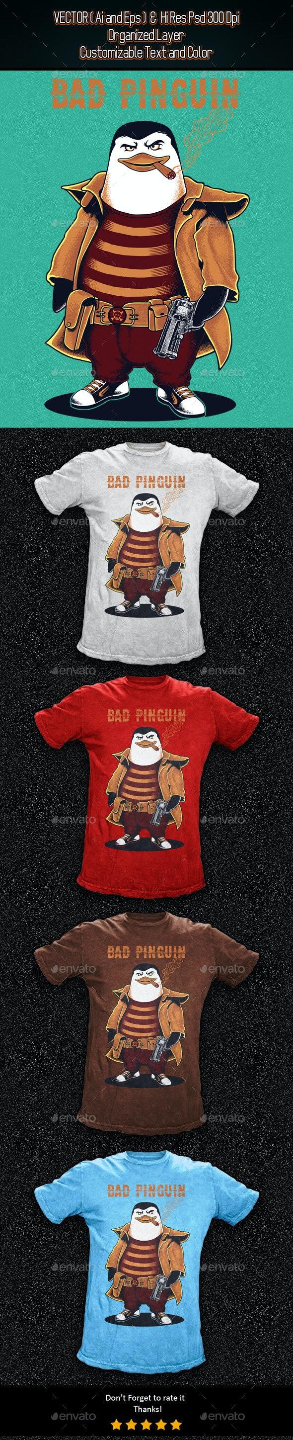Bad Pinguin - Funny Designs