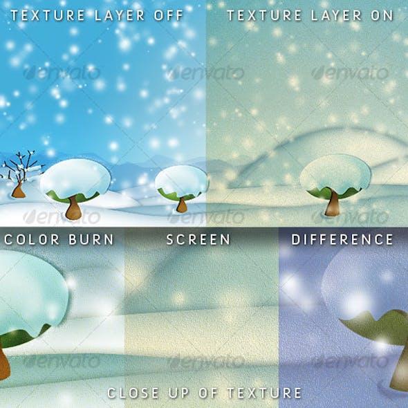 Digital Freeze Landscape