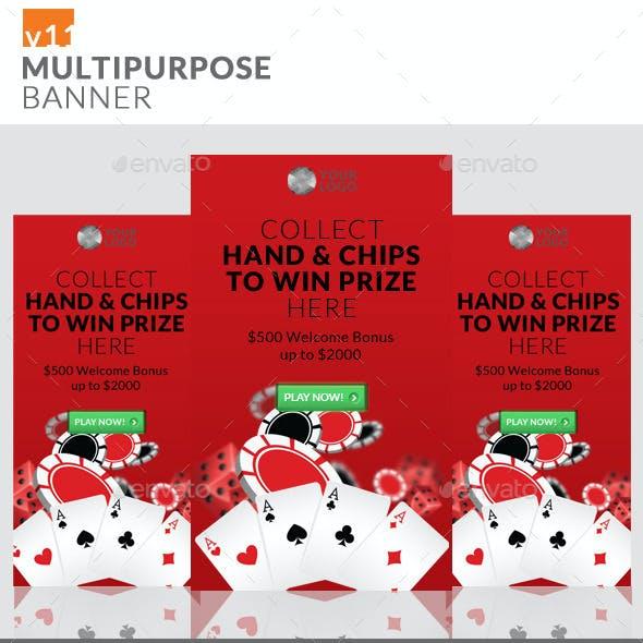 Multipurpose Banner Ads v11
