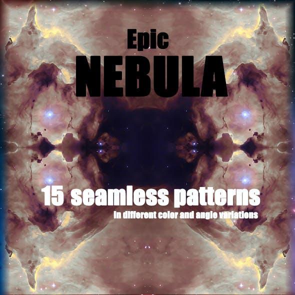 15 Nebula Seamless Patterns