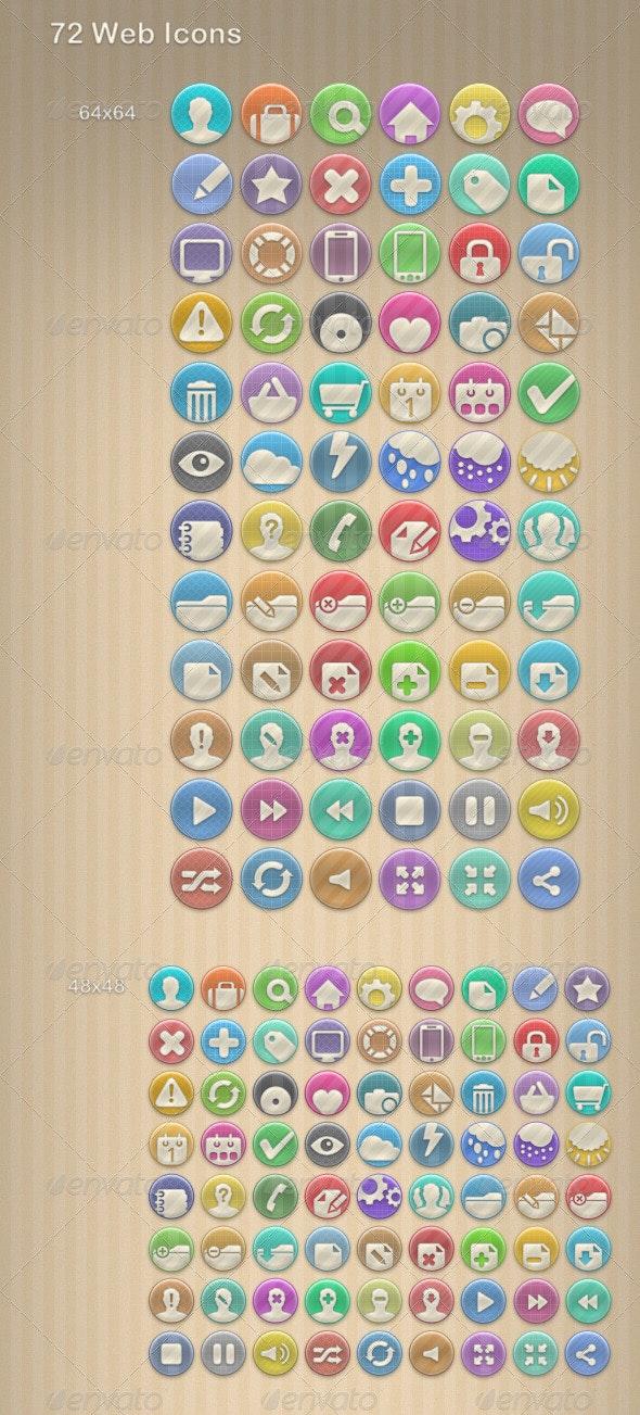 72 Web Icons - Web Icons