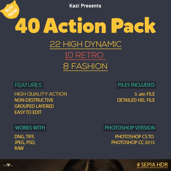 40 Action Pack