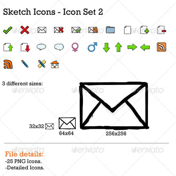 Sketch Icons 2