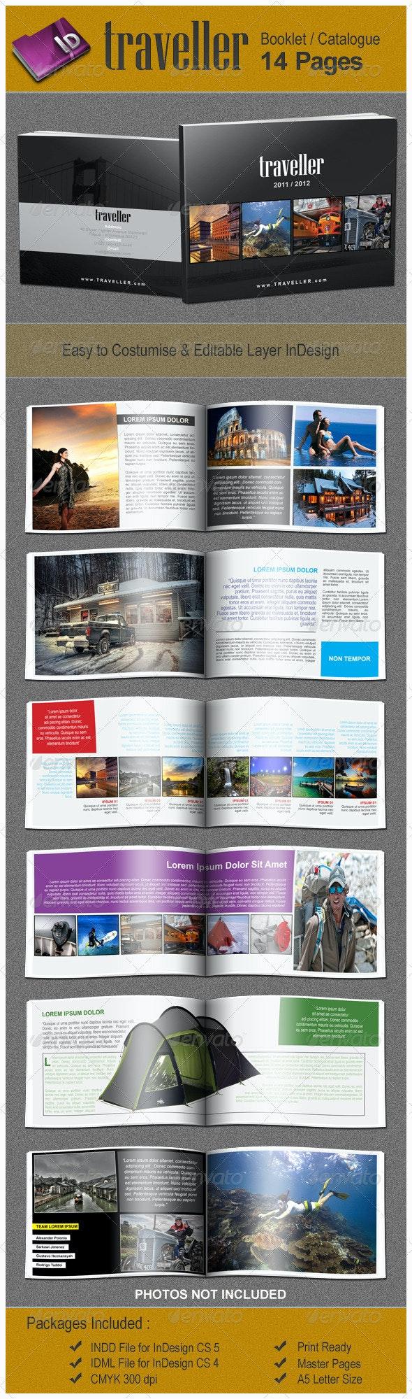 Traveller Booklet/Catalogue Template - Catalogs Brochures