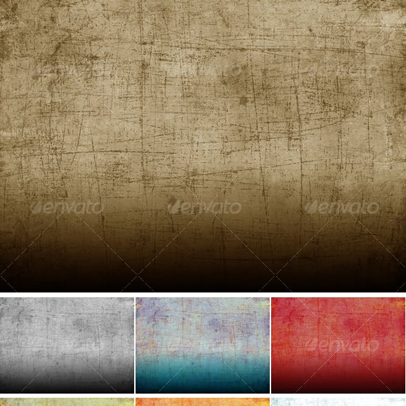Grunge Fabric Texture in 10 colours